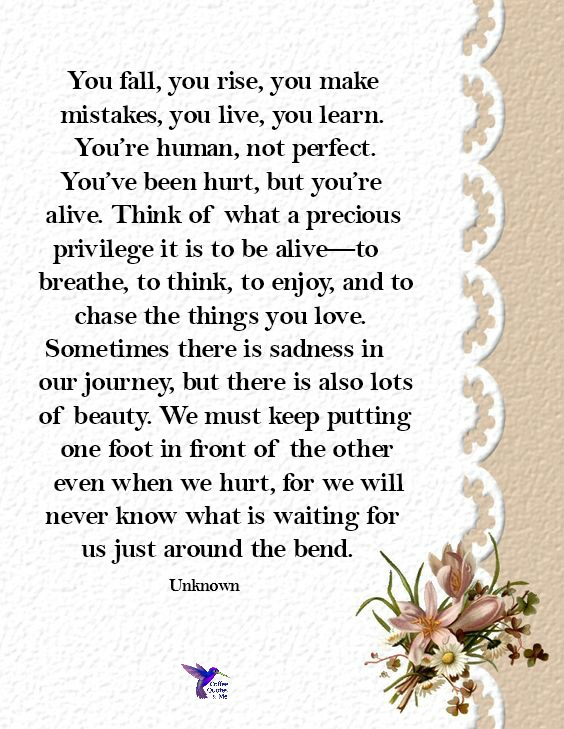 quote about life from unknown author
