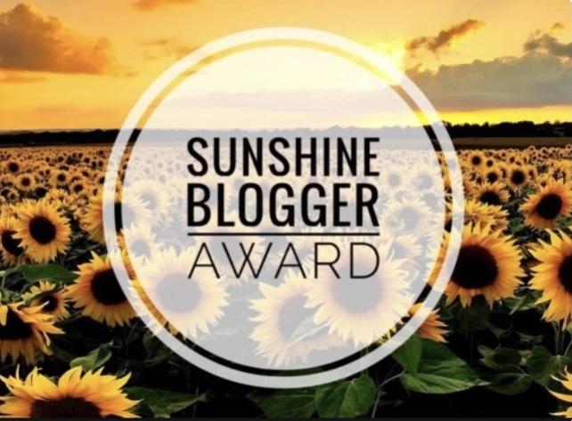 sunshine-blogger award