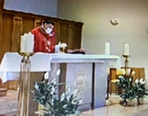 Sunday Mass last week (2)